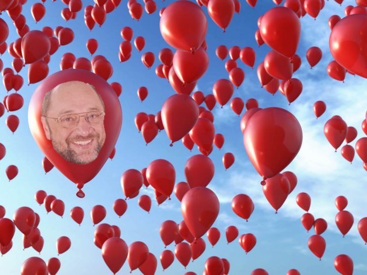 99 Luftballons …auf ihrem Weg zum Horizont